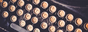 Header-Old-Typewriter